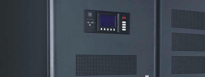 六、ITA系列UPS(10〜20KVA)   ITA 1KVA,1.5KVA,2KVA,3KVA ITA 5KVA,6KVA,10KVA,20KVA ITA 系列UPS是艾默生网络能源有限公司新开发的智能化在线式正弦波不间电源, 为用户设备提供可靠、优质的交流电源。采用模块化设计,功率段覆盖1-20KVA, 可以根据需求装配为塔式或机架式,同时兼容单进单出、三进单出及三进三出三种 供电体制。 特点 1-3KVA